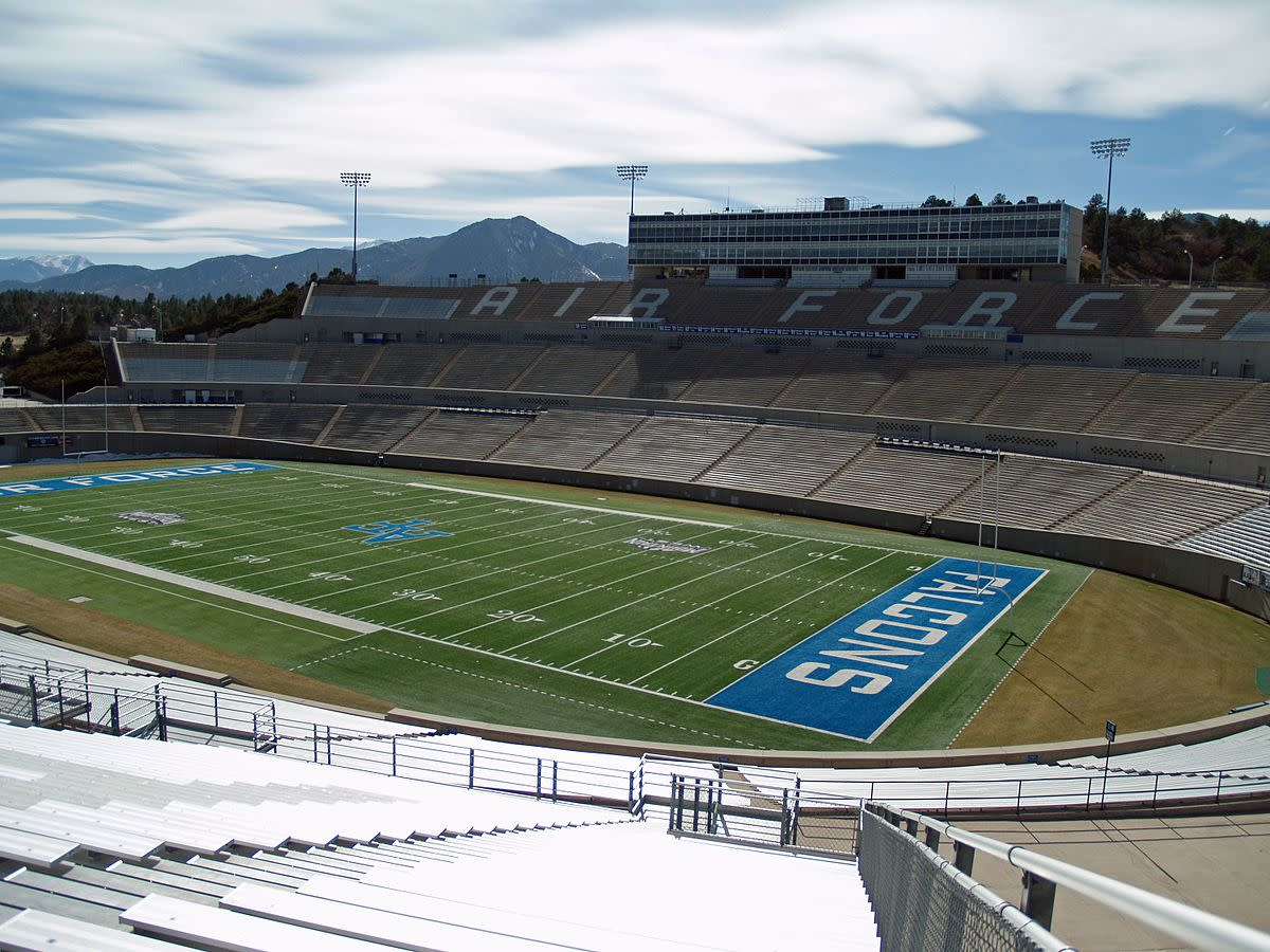 Falcon Stadium at the U.S. Air Force Academy