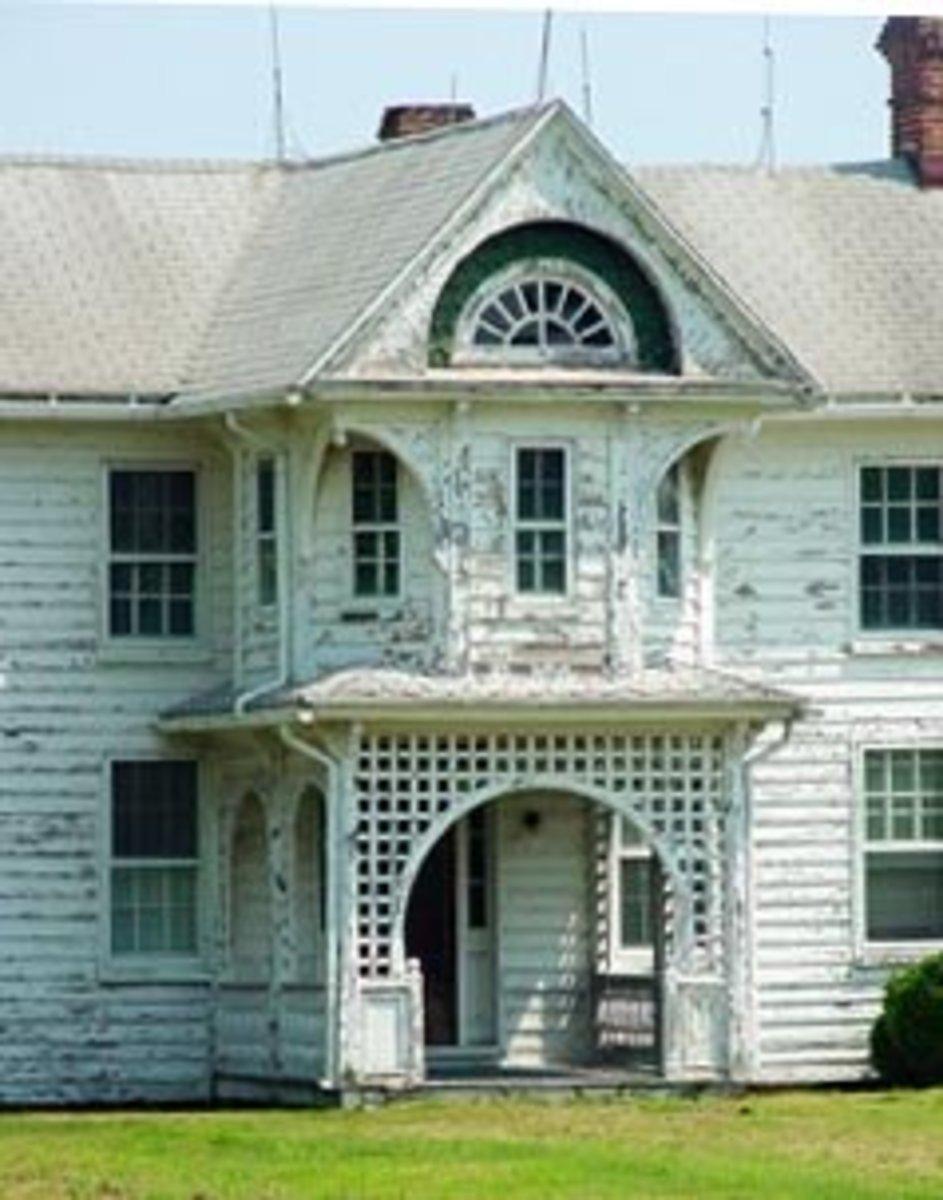 Old home at Tilghman Island