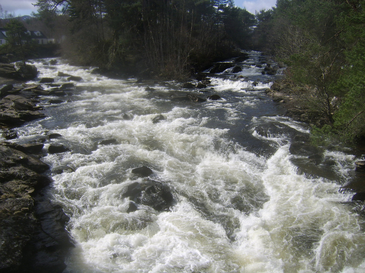 The Falls of Dochart