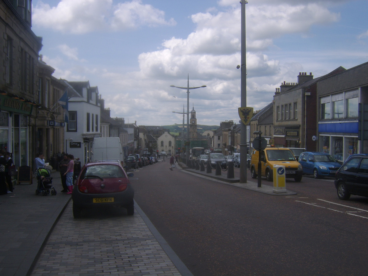 Lanark High Street