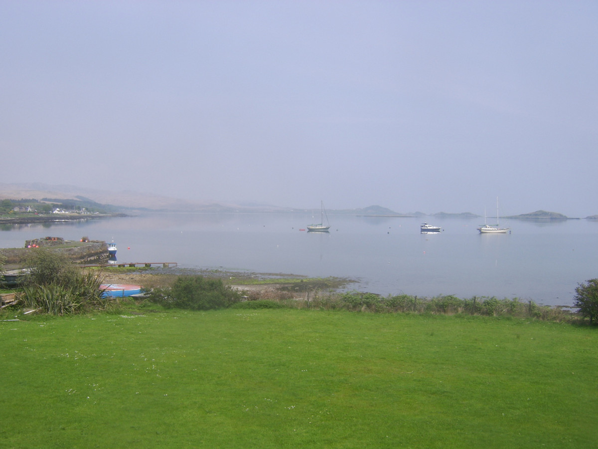 The Bay at Craighouse, Jura