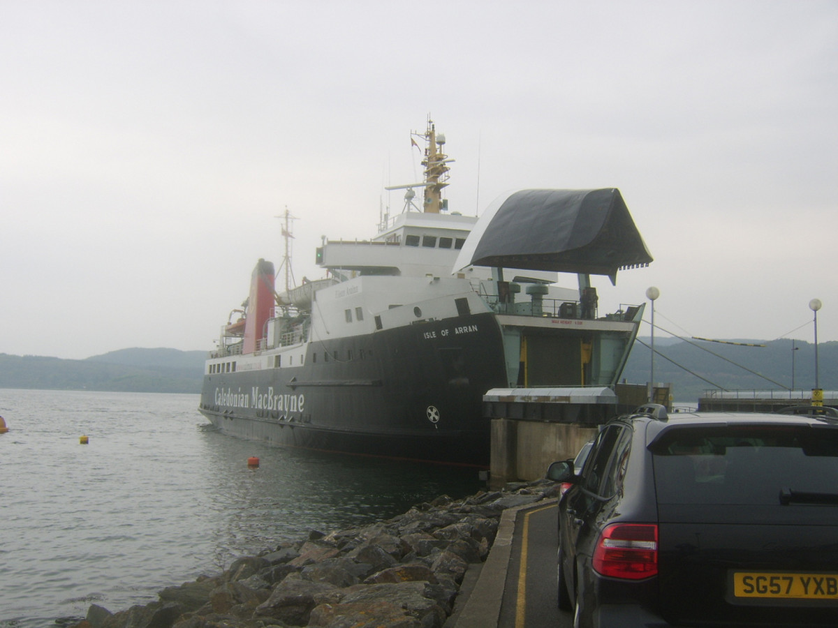 Boarding the Islay Ferry at Kennacraig
