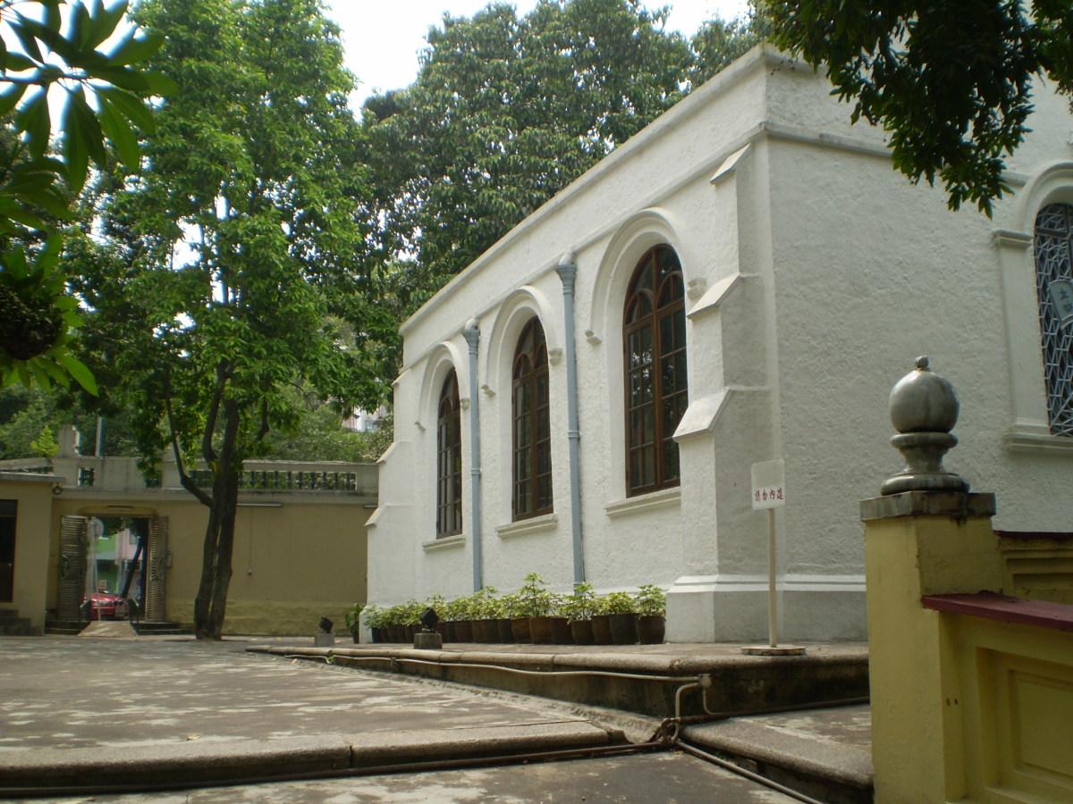 Macau Protestant Chapel.