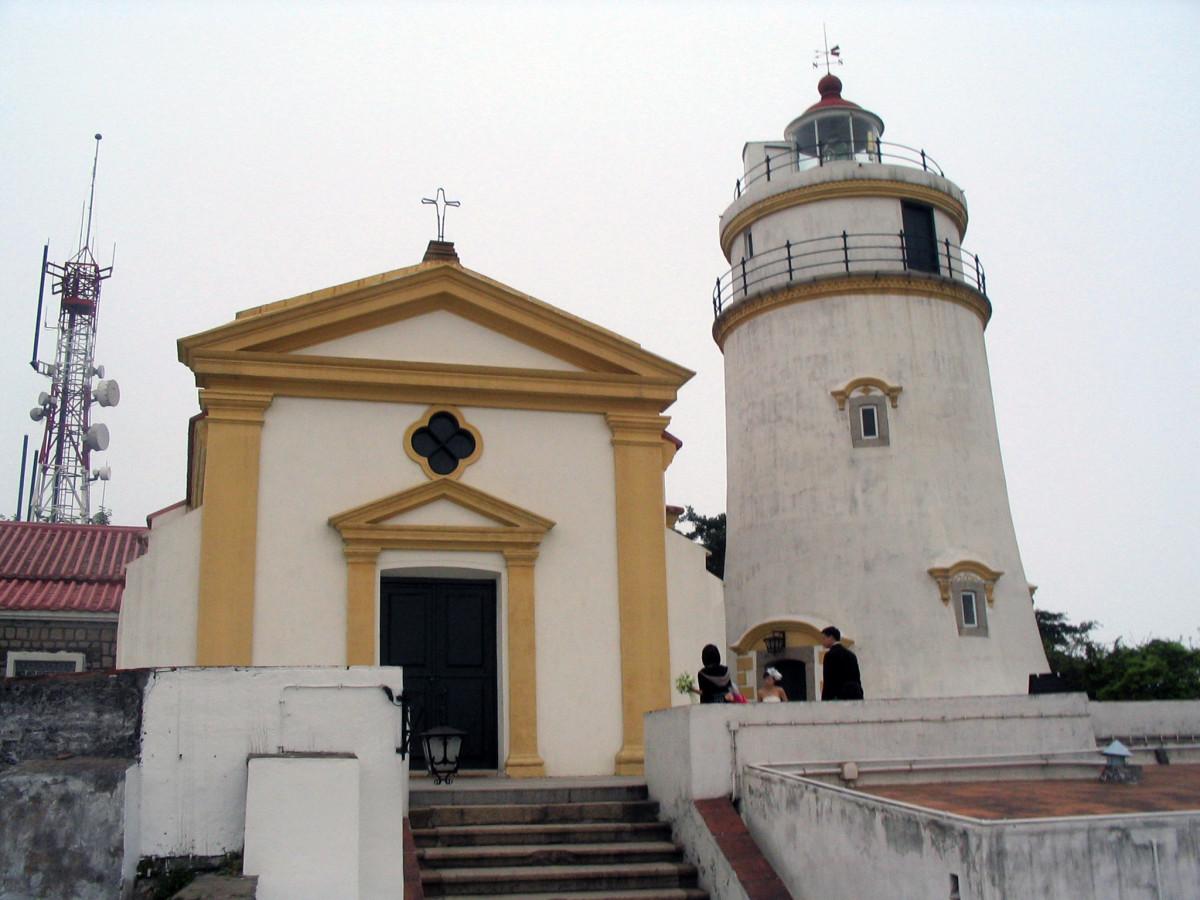 Guia Fort and lighthouse, Macau.