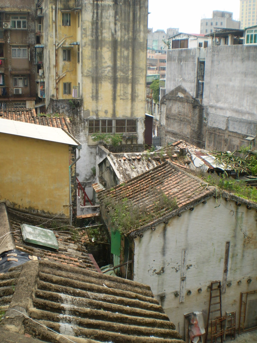 Old Chinese houses, Macau.