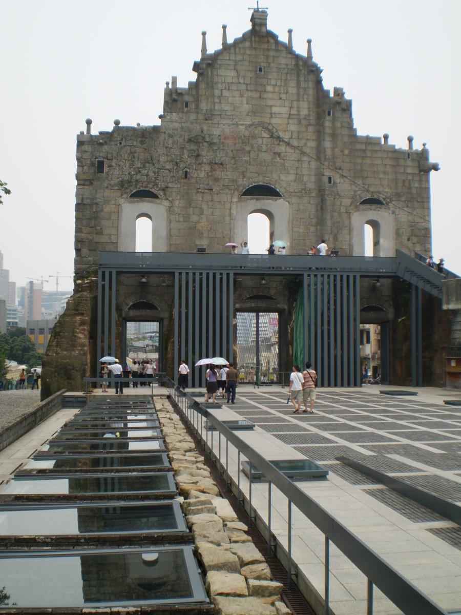 Sao Paulo ruins.