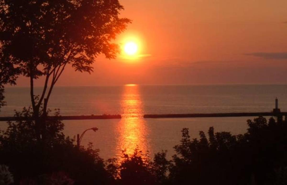 Petoskey sunset