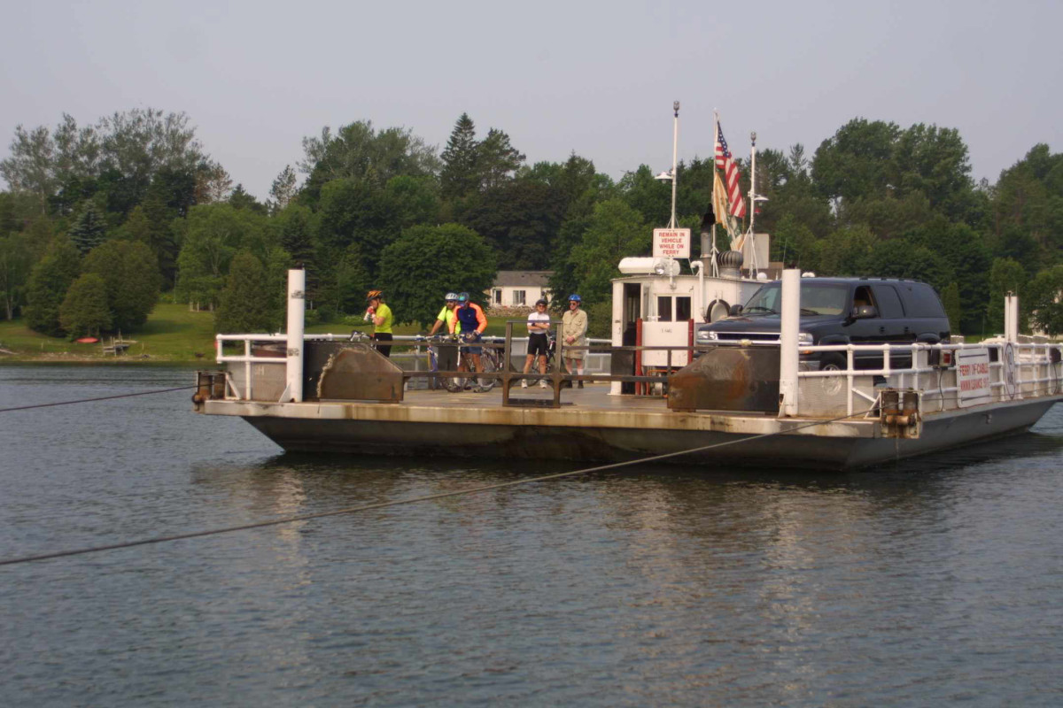 Ironton car ferry