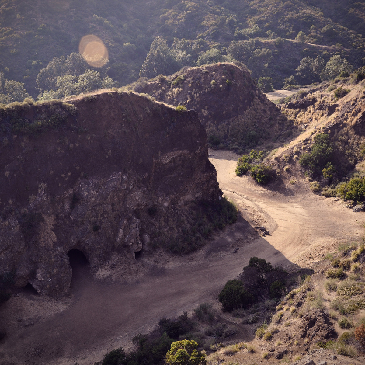 Bronson Caves served as the setting of the bat cave in the 1960s Batman television series.