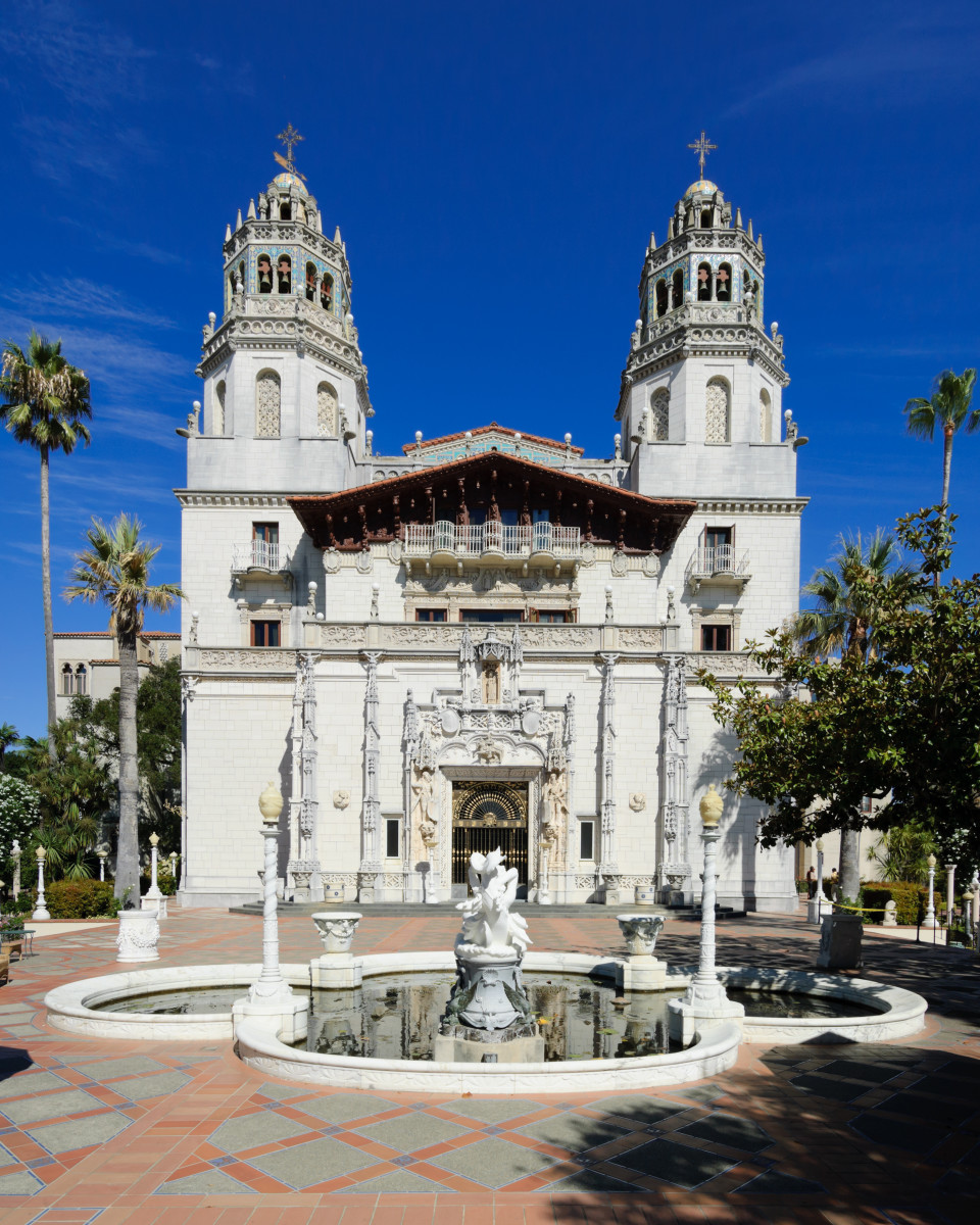"Hearst called the two-towered main house of Hearst Castle ""the ranch."""