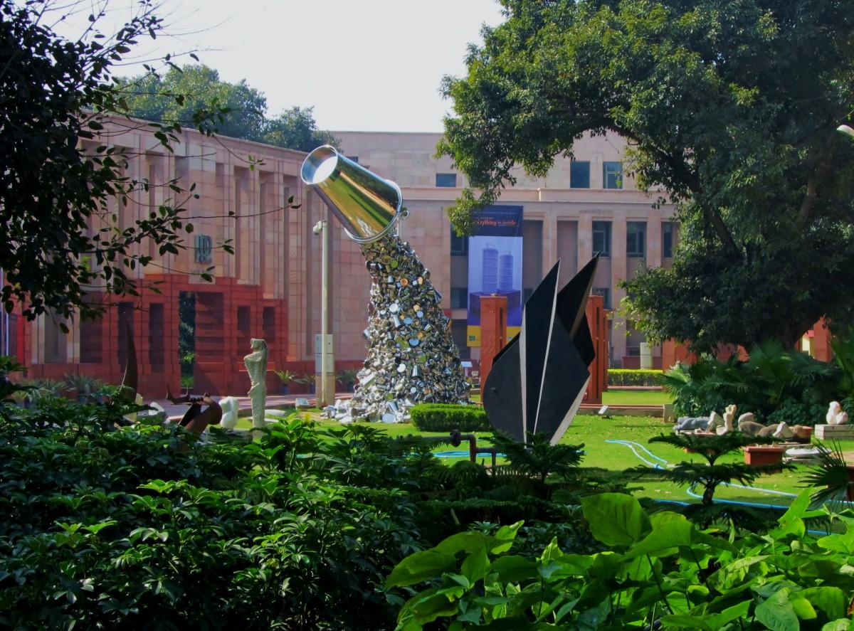 Sculpture Garden at the NGMA