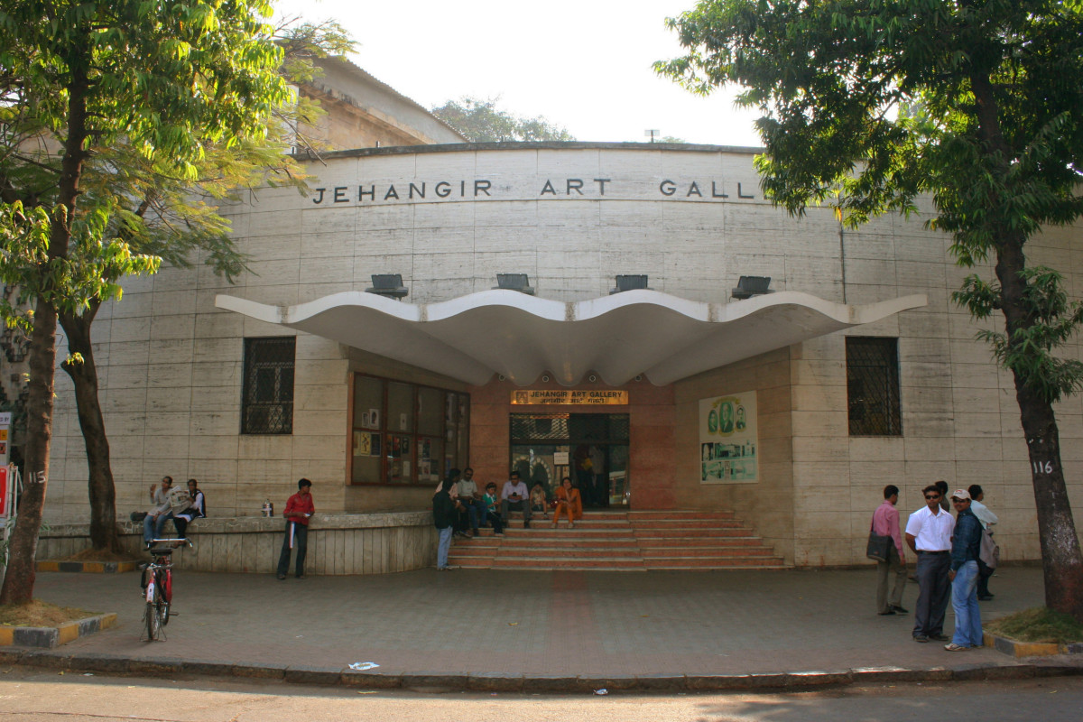 Entrance to the Jehangir Art Gallery