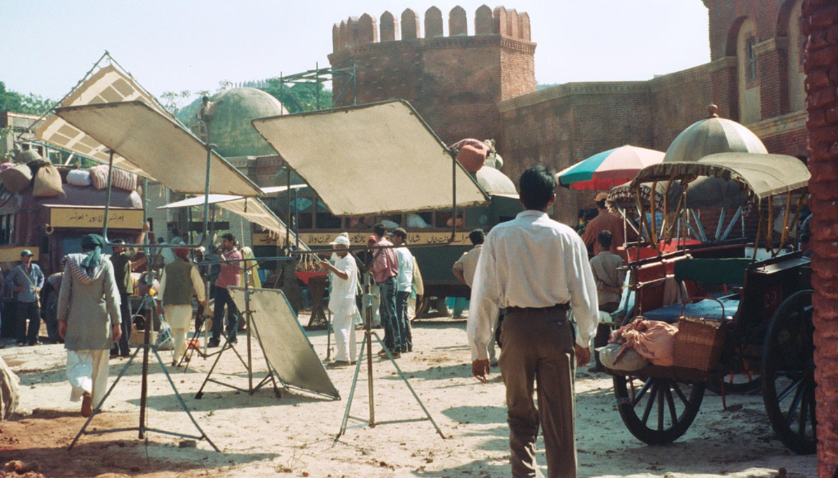 Ongoing Shooting Sequence of a Hindi Movie