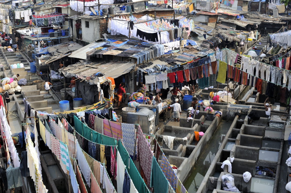 The Vast Premises of Mahalaxmi Dhobi Ghat