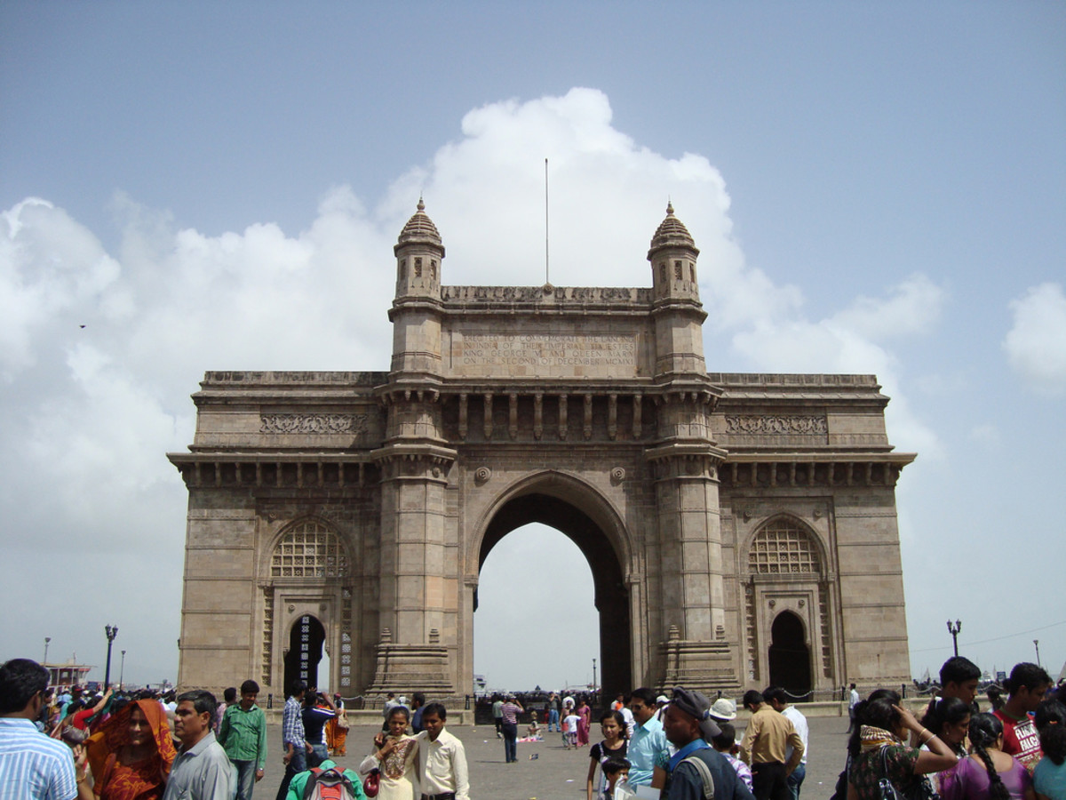 The Gateway of India is one of the most visited places in the city.