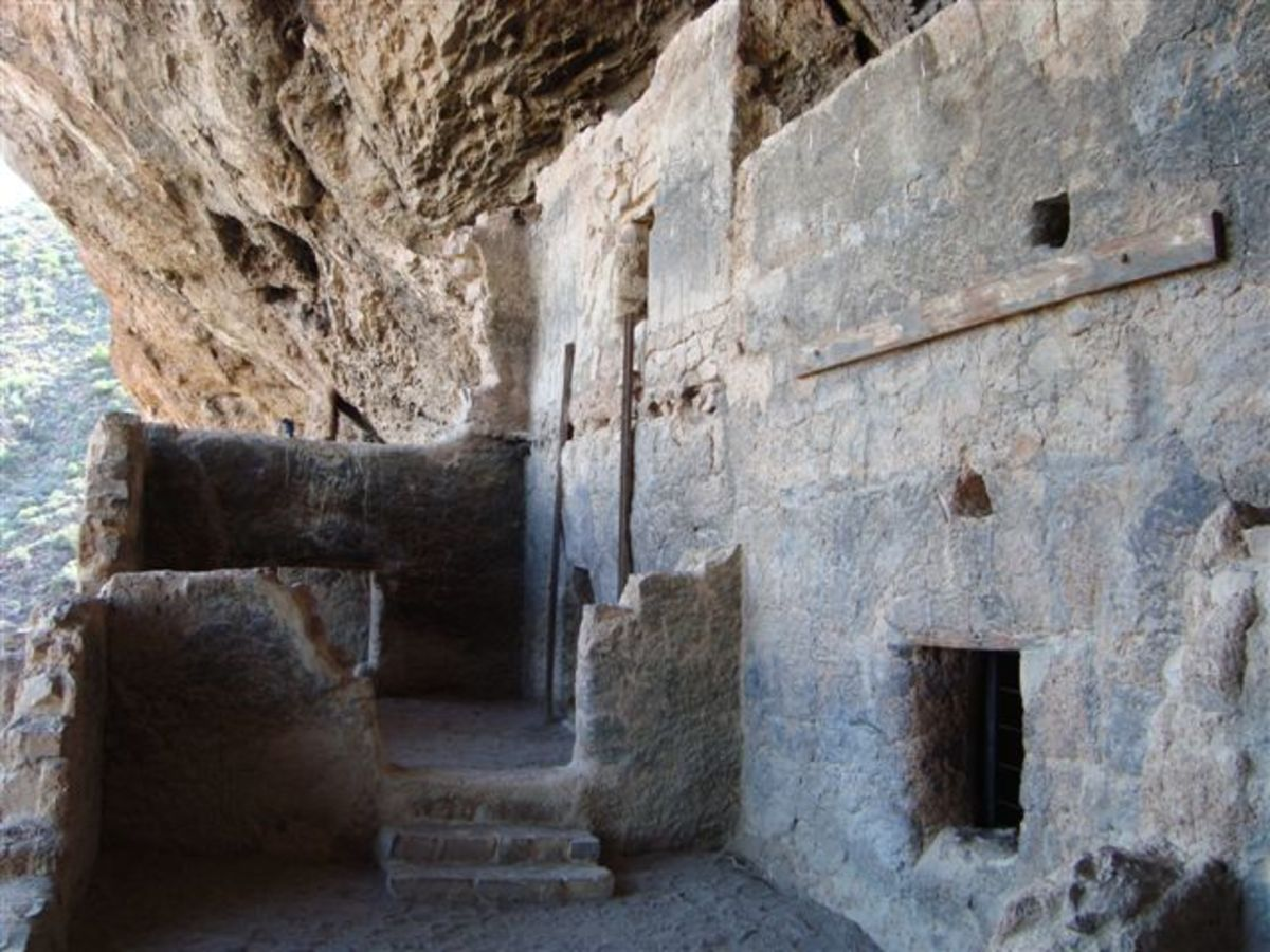 The first thing that strikes you is how well these primitive people built structures. The walls are very straight.