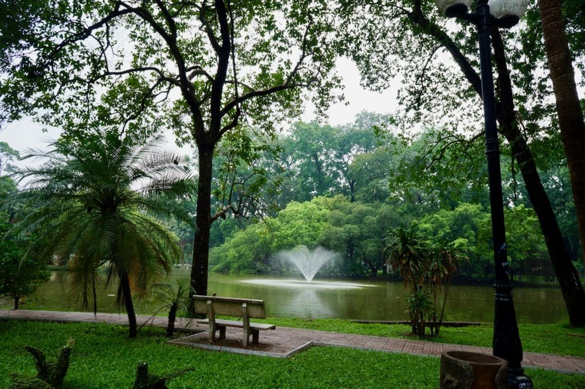 Botanical Garden in Hanoi