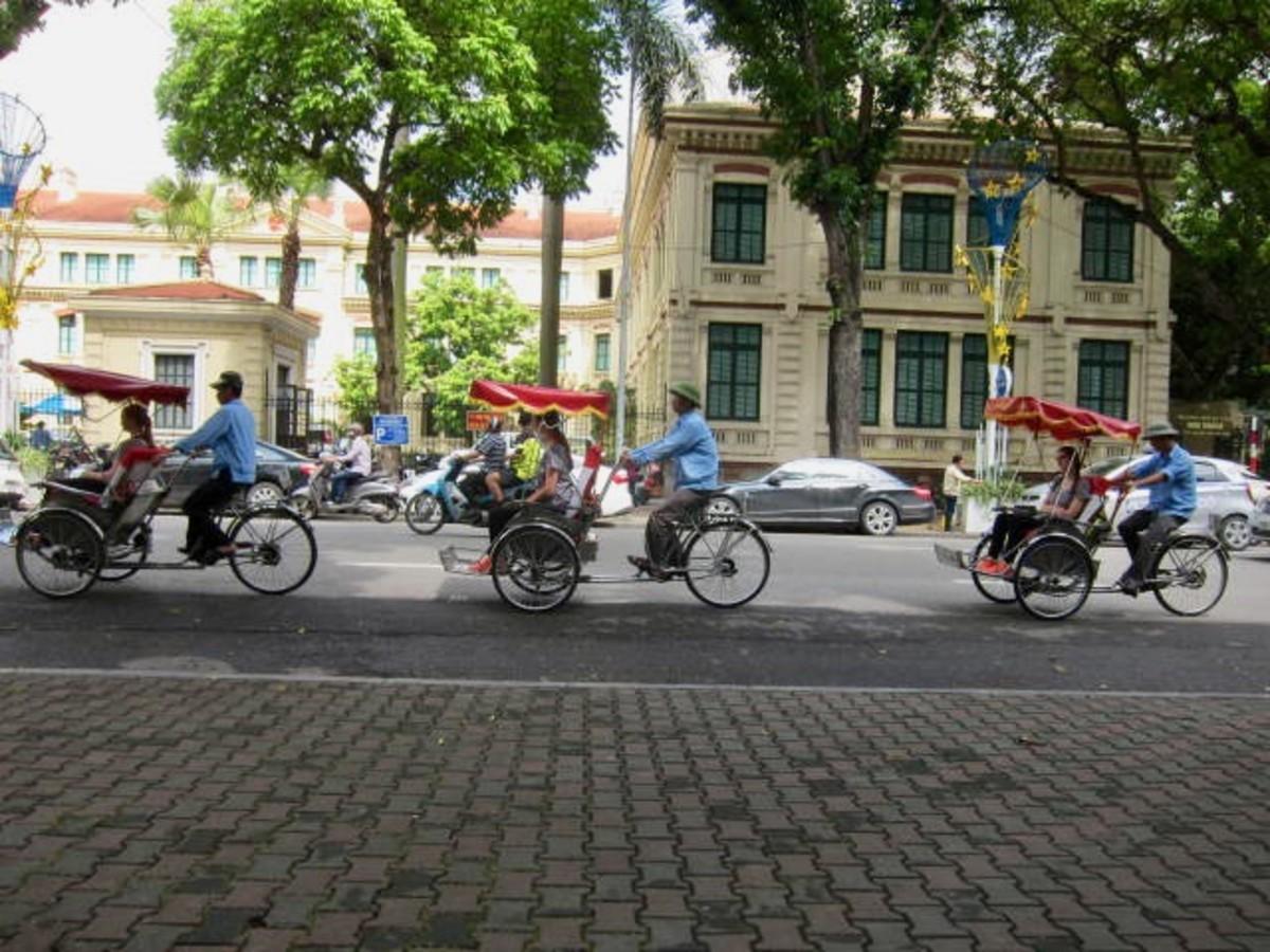 Sustainable Cyclo in Hanoi