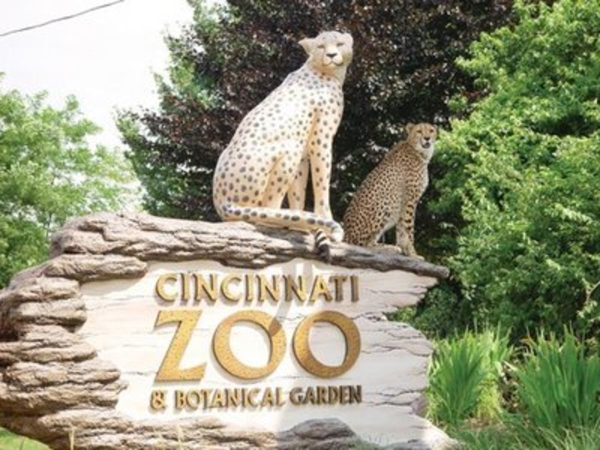 Cincinnati Zoo sign