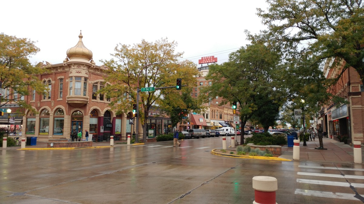 Rapid City's Historic Commercial District is a charming place to explore and grab a bite to eat.