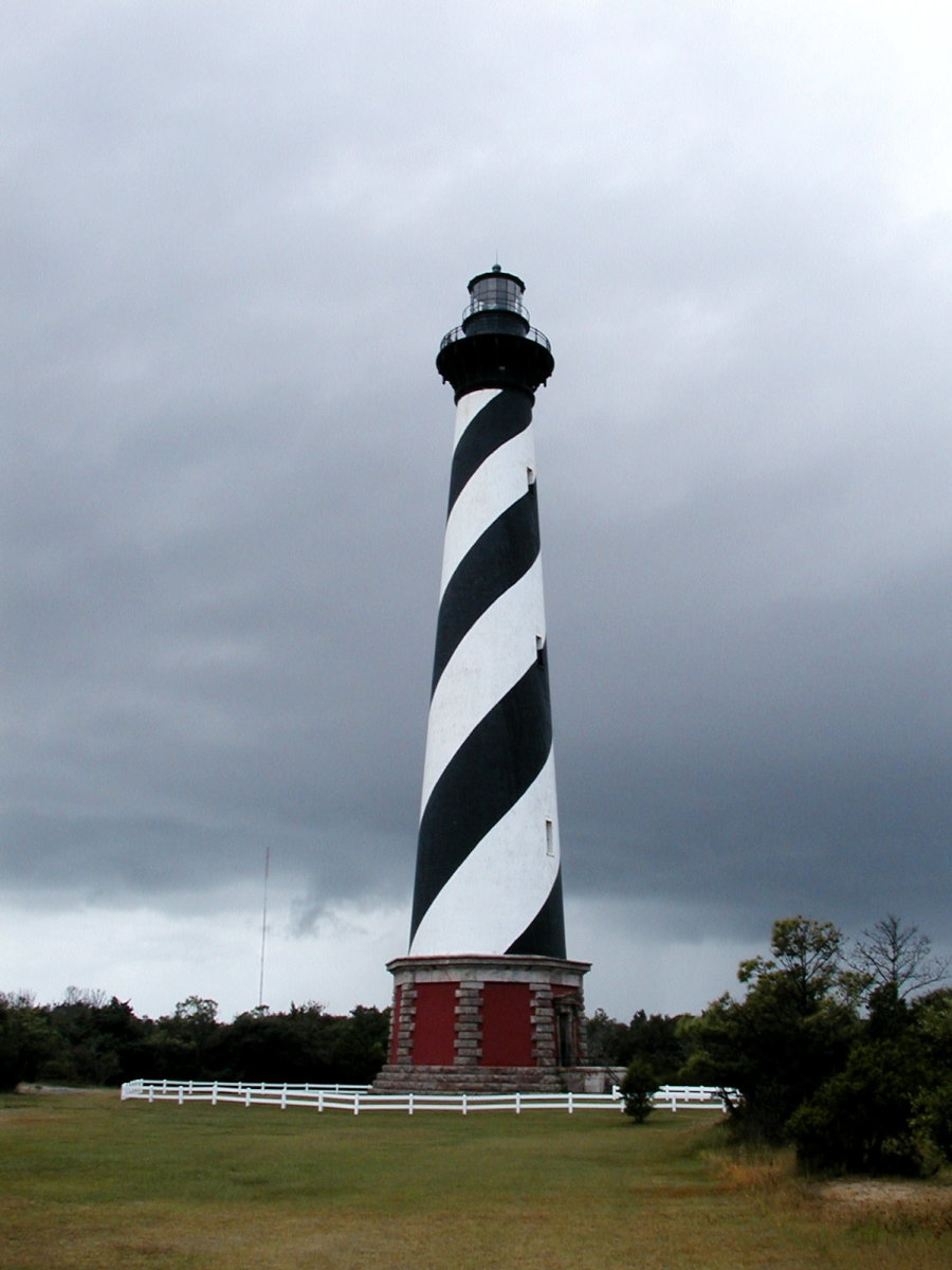 Cape Hatteras Lighthouse on the Outer Banks.