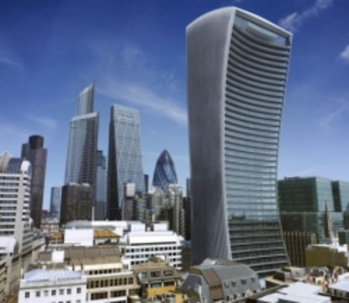 Walkie-Talkie Building, London
