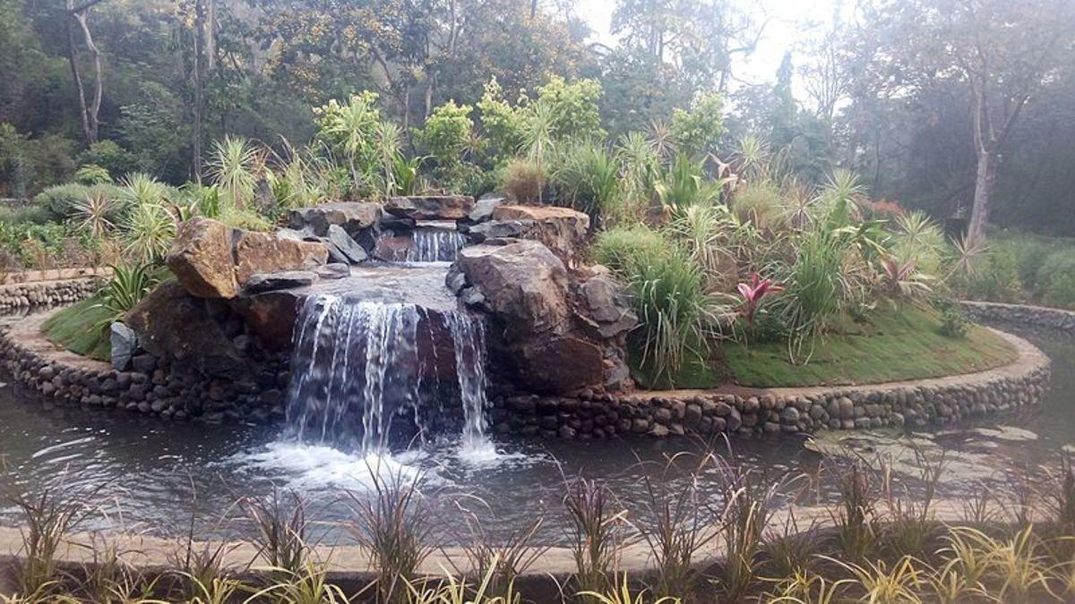 Mini waterfall at SGNP