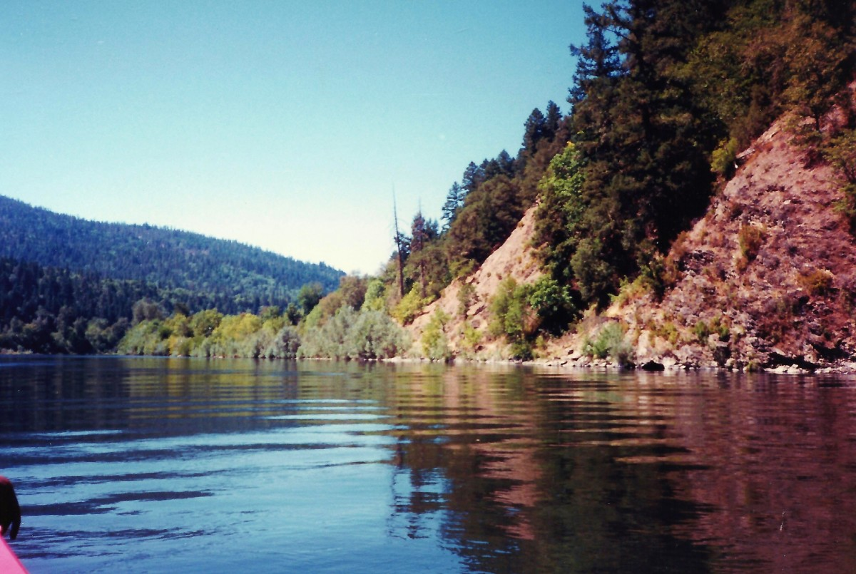 Rogue River from the Jet Boat