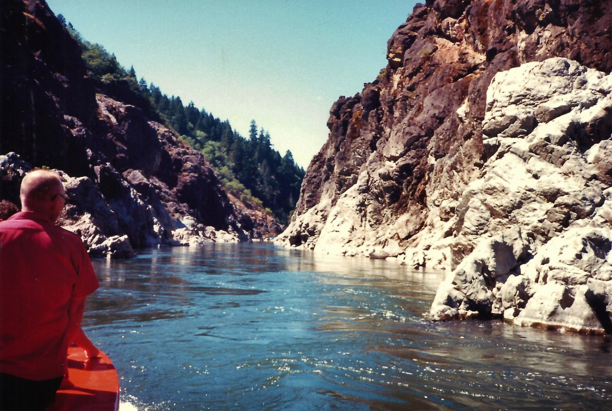 Hellgate Canyon on the Rogue River in Oregon