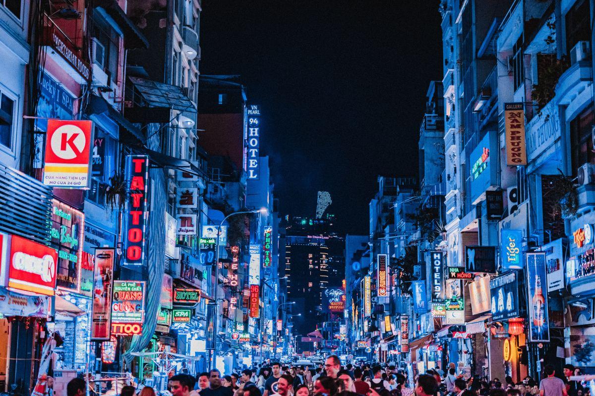 Ho Chi Minh City, Vietnam, is a popular destination for shopping tourists.