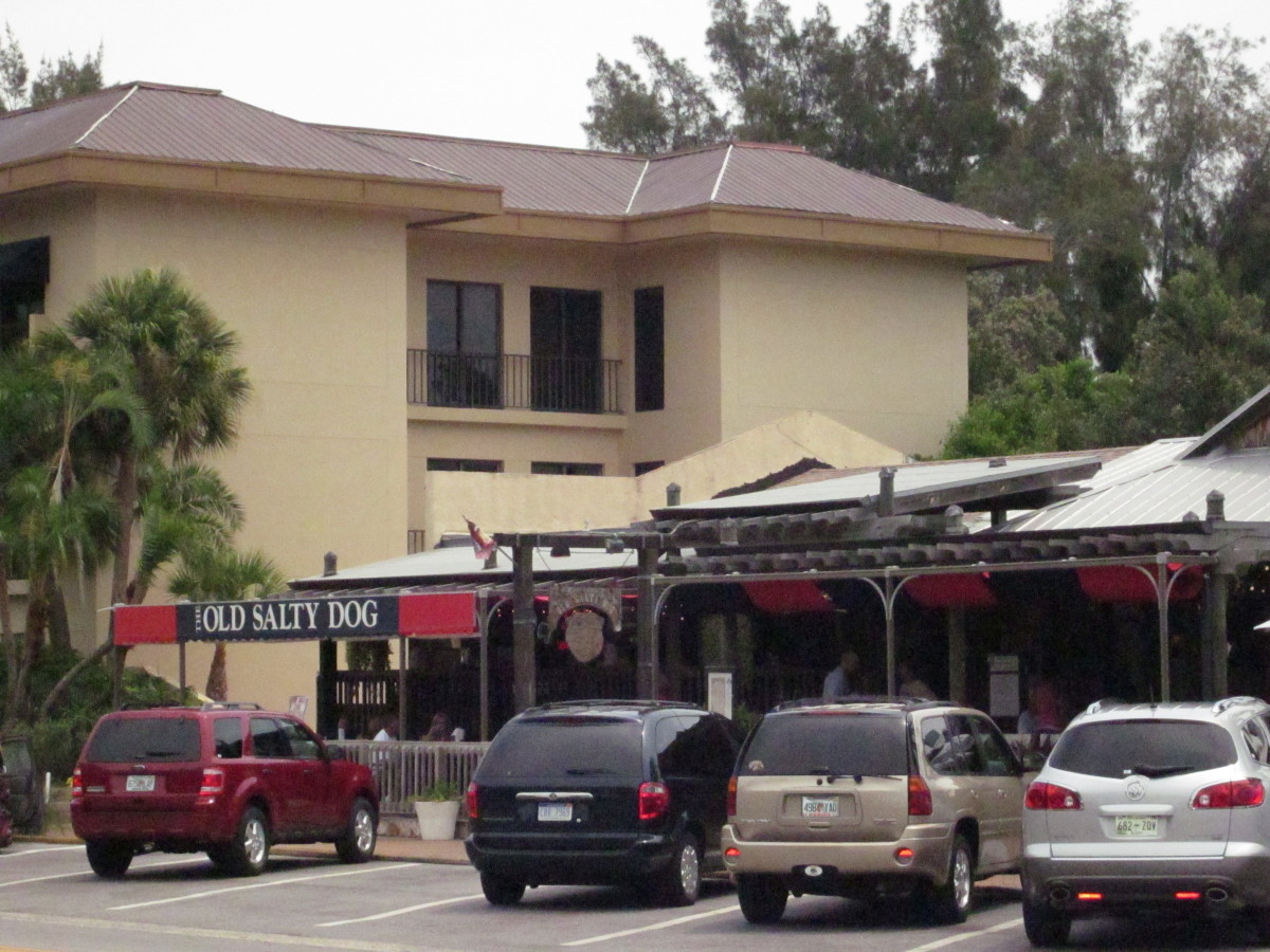 The Siesta Key location of The Old Salty Dog restaurant.