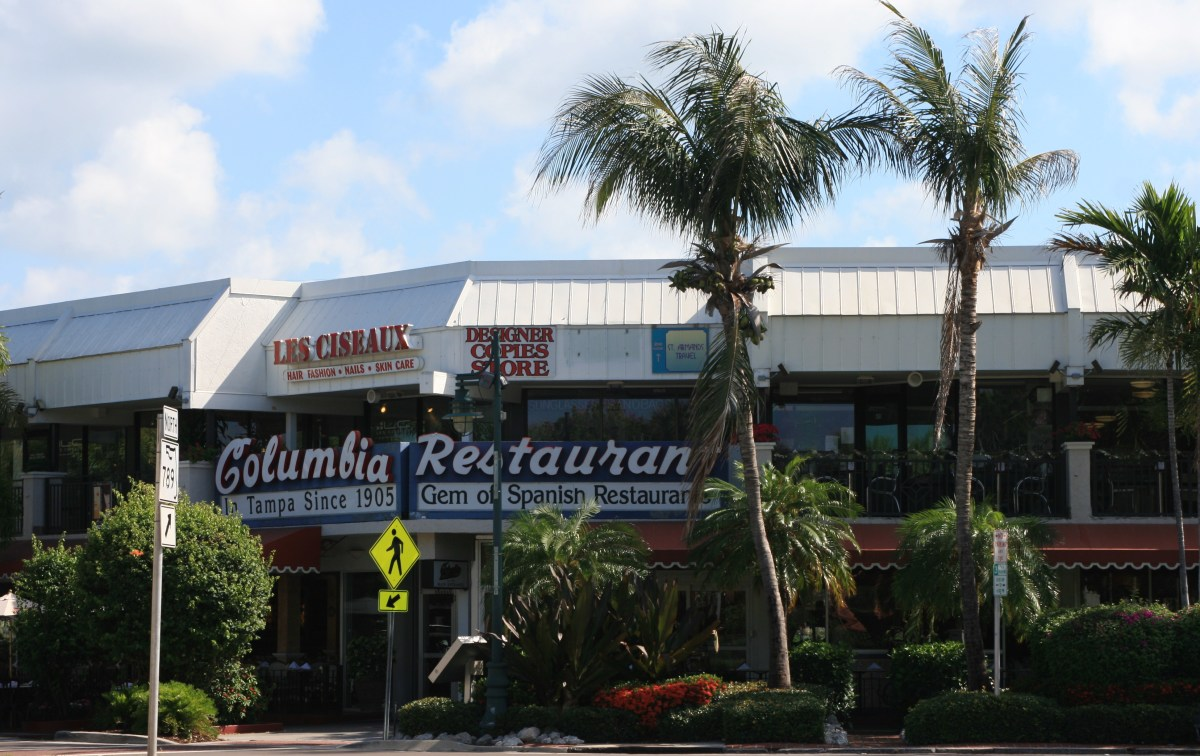 The Columbia Restaurant on St. Armands Circle.