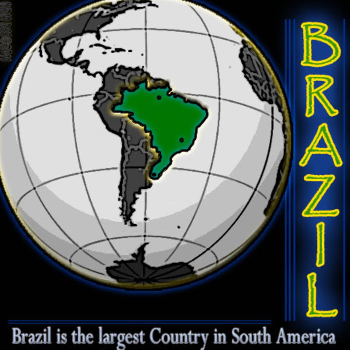 Brazil unique map