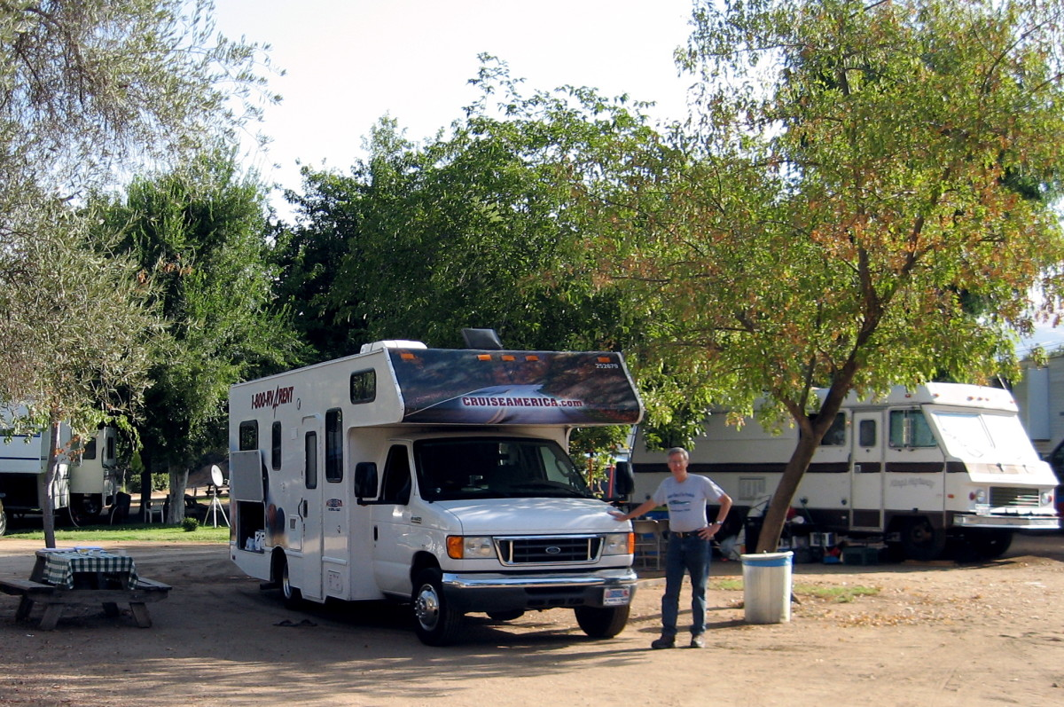 Travel in a Rented RV: Road Trip From Los Angeles to ...