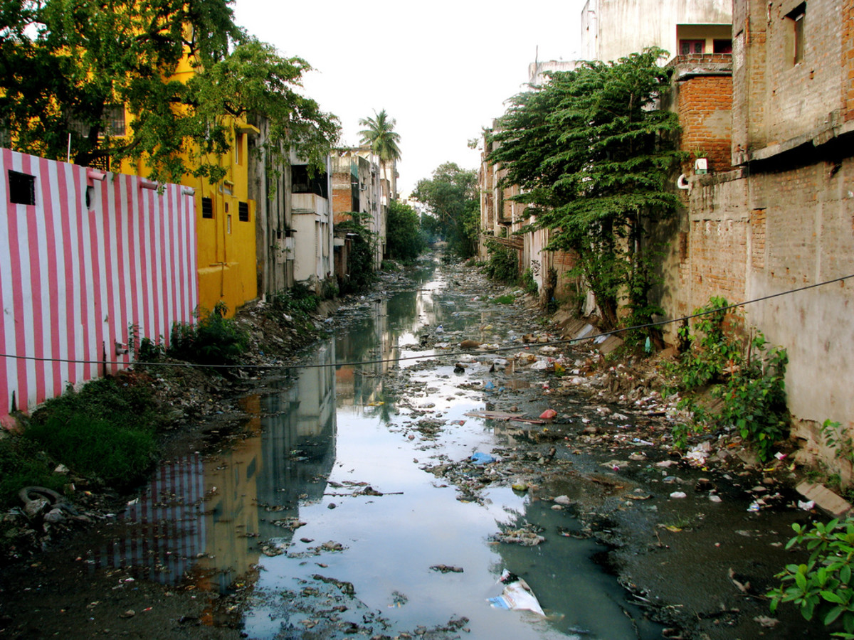 Canal in Chennai