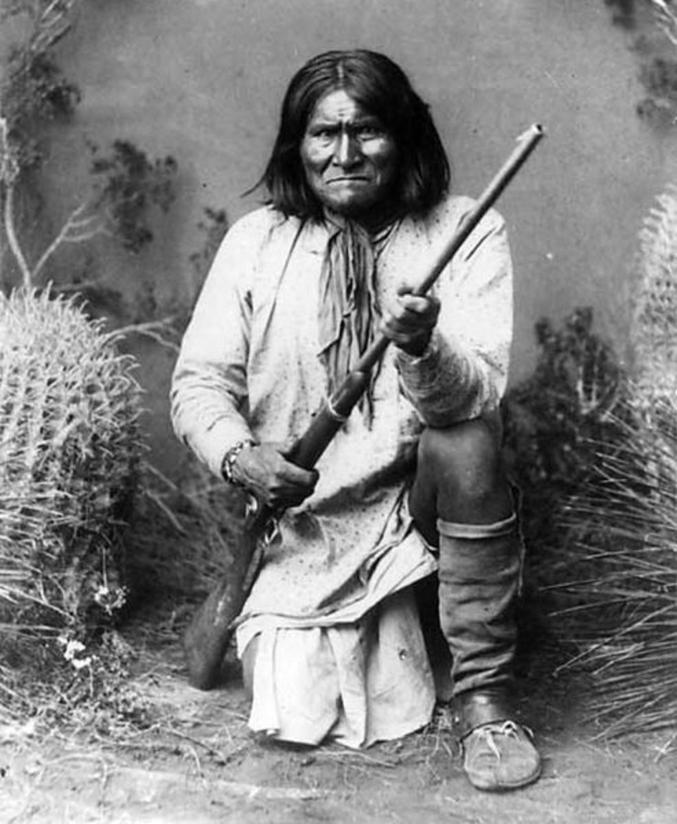 Apache Indian Chief Geronimo