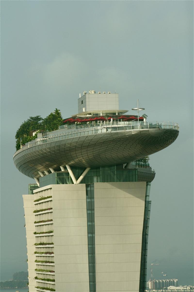 The Marina Bay Sands Casino complex