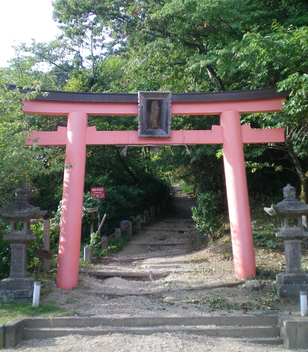The entrance to Koya-san (c) A. Harrison