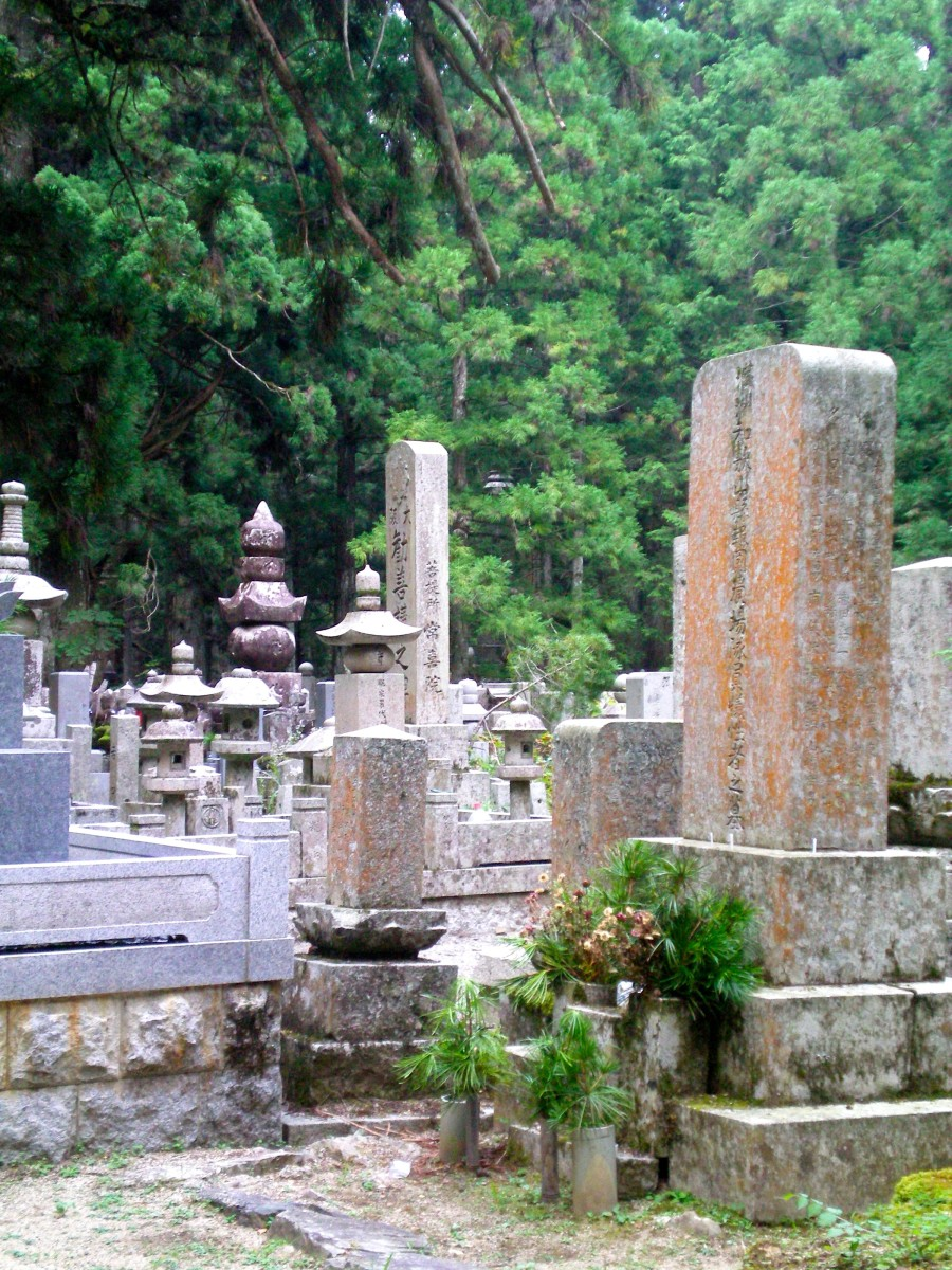 Graves along the Okunoin (c) A. Harrison