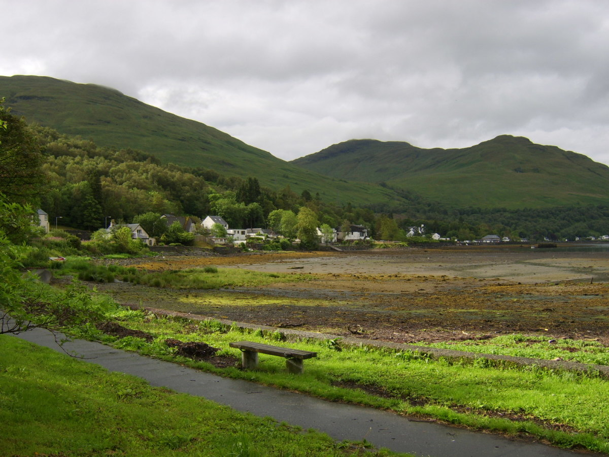 The village of Arrochar on the southern shore of Loch Long lends its name to the mountain range in this part of Scotland, the Arrochar Alps