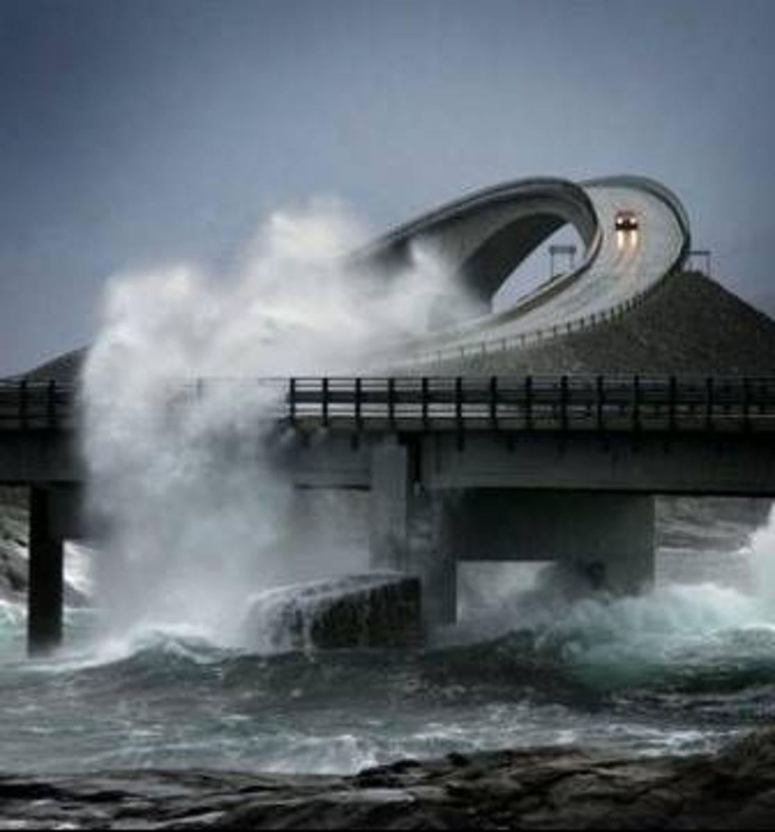 Storseisundet Bridge, Atlanterhavsveien