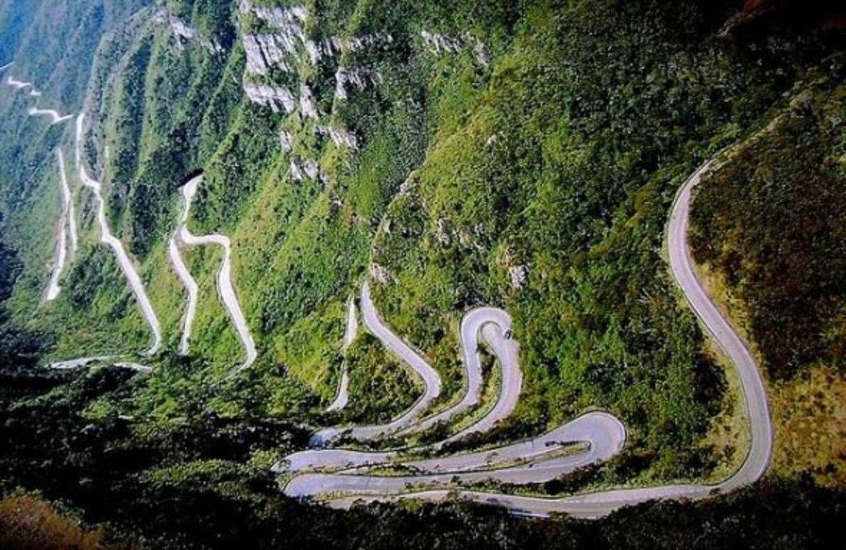 Estrada da Serra do Rio do Rastro