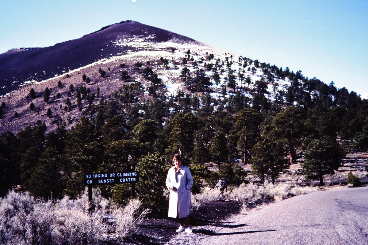 Yours truly at Sunset Crater