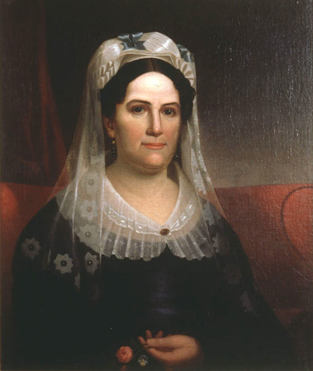 Portrait of Rachel, wife of Andrew Jackson
