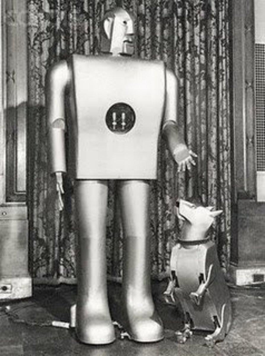 Elecktro, the Robot