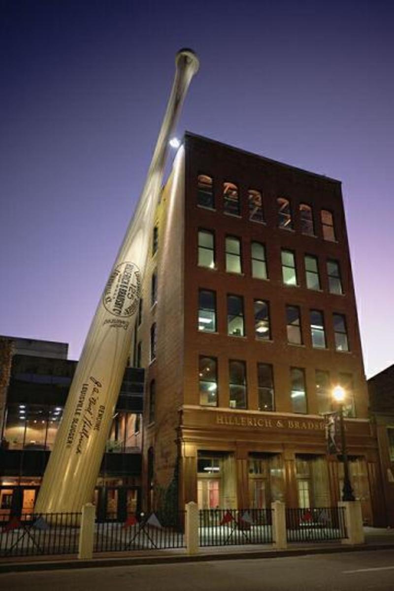 The World's Largest Baseball Bat