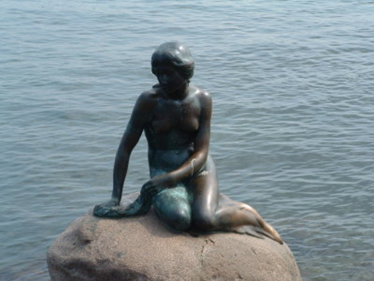 The Little Mermaid of Denmark.