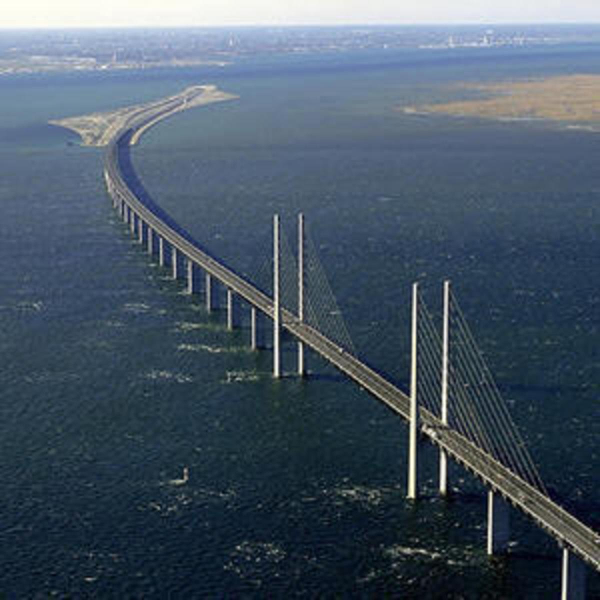The Oresund Bridge.