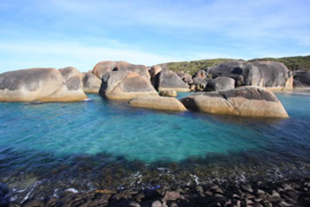 elephant rocks in Denmark