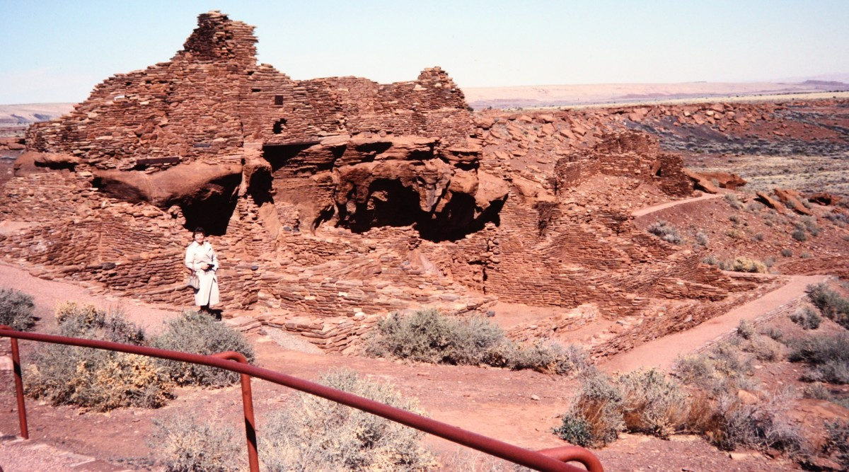 There I am at the Wupatki National Monument.